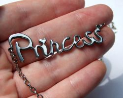 Princess Necklace - Stainless by milkool
