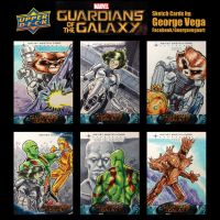 GOTG-Sketch cards by shaotemp