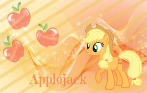 Applejack wallpaper by Hatsunepie