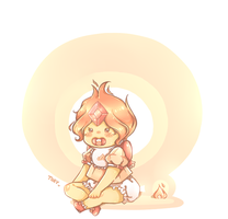 Baby Flame Princess by KawaiiUchuujin