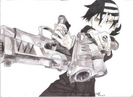 Soul Eater! Death the Kid by forever-phinbella