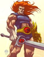 Lion-O Thundercats - ATU by EryckWebbGraphics