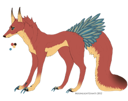 BirdWolf 2 (SOLD) by SixxAdopts