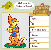PKMN-Crossing App: Lynn by Lyraeli