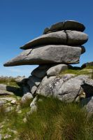 The Cheesewring Bodmin Moor by runique
