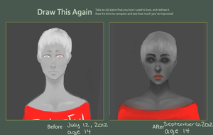 Draw this Again Challenge (about 2 months) by Marmaladde