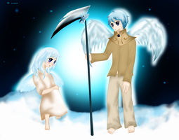 Angels in the Sky by CeraSo36