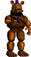 Repaired Fredbear (Remade) by Tristan095