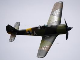 Fw-190A-5 Flyby by shelbs2