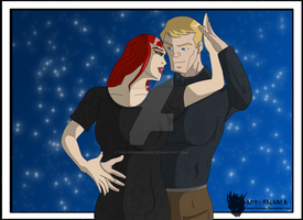 Avengers Hawkeye and Black Widow - Without You by The-GreenGoblin
