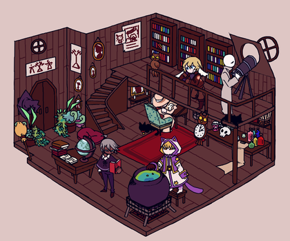 [Wizard.. Room?] by wolfifi