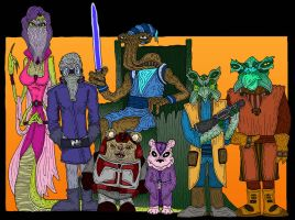 Ithorian Crime Lord by Lordwormm
