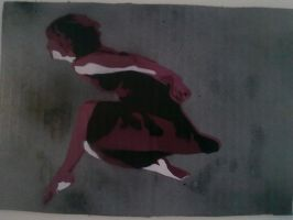 Leap of faith stencil by moon-glaze