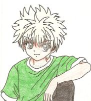 Killua by alvi-chi