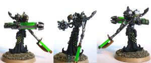 Necron Destroyer Overlord by Girot