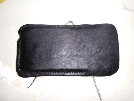 Ipod case, leather. finished by MonsterWhacker