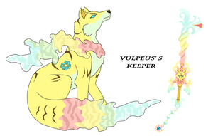 Keeper fox by vildtiger