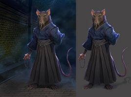 Splinter concept by drazebot