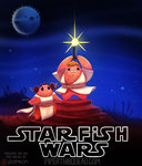 Daily Paint 1626. Starfish Wars by Cryptid-Creations