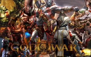 Wallpaper - God of War by TheNapster169