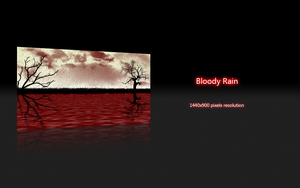 Bloody Rain by deviantdark