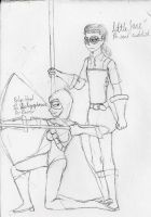 Concept: Robyn and Lil' Jane by AC-Drawings
