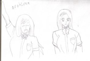 Orohime sketches by man1nblack