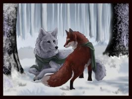 Winter's Silence by Lost-Wolf-Soul
