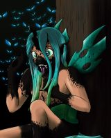 Queen Chrysalis TF/TG by tf-sential