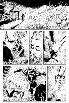 Mera Page 1 Inks by craigcermak