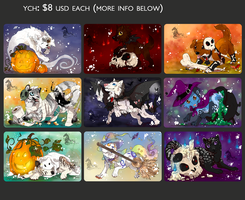 YCH Buys: Halloween Themed (CLOSED) by Aminirus