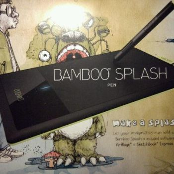 new wacom bamboo tablet by Ulquiorra2611