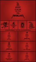 Keep Calm and Listen to Metallica Wallpaper Pack by Rana-Rocks