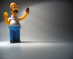 Homer loves Donuts by Headtrack