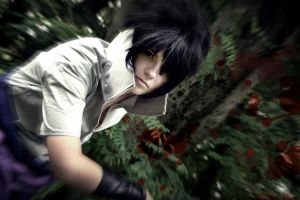 Sasuke Uchiha Taka - Animexx July 2013 - Bloody by CalypsoUchiha