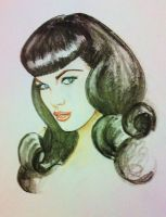 Betty Page by jessicacreaser