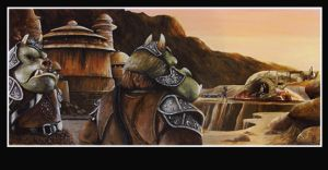 Boba Fett's Arrival by Tim Proctor by Def-Force