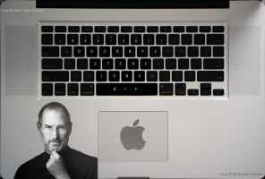 Steve Jobs MacBook Pro Tribute by eanimusic