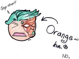 Orange-kun by Naraime