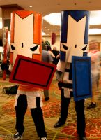 Castle Crashers by Aether-Shadow