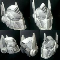 Optimus Prime - AoE Helmet by TheSproutingArtist