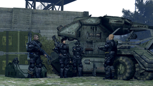 ODST Squad preparation by Sigi09