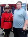 Me and a Mountie by betterwatchit
