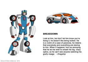 TFA Stunticons: Breakdown by DarioCld