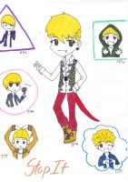 Chibi B.A.P Stop It by ShaniaKeehl