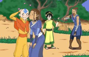 Thanks, Aang by NightangelWorks