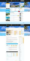 Tour Operator Website by waseemarshad