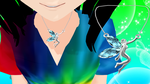 Guardian Faerie Crystal Necklace by ninjapirate10194