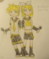 Rin and Len by MiruruLove
