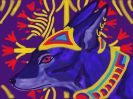 Anubis Bejewled by Be-Lyle